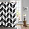 Madison Park Mizone Libra Microfiber Shower Curtain