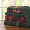 Madison Park Premier Comfort Blackwatch Plaid Yarn Dyed Berber Throw