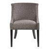 Madison Park Caitlyn Rounded Roll Back Side Chair