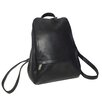 "Royce Leather Genuine Leather Vaquetta 10"" Adjustable Backpack"