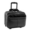 Royce Leather Royce Leather Rolling Laptop Briefcase Travel Bag