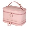 Royce Leather Ladies' Cosmetic Travel Case