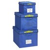 Bin Warehouse 22 Gallon Fold-A-Tote 4 Pack
