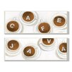 Stupell Industries Java and Café Skinny 2 Piece Graphic Art Set