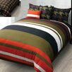 <strong>Hallmart Collectibles</strong> Military Stripe Comforter Set