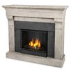 <strong>Real Flame</strong> Torrence Cast Mantel Gel Fuel Fireplace