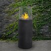 Real Flame Modesto Fiber-Concrete Gel Fire Column