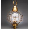 Northeast Lantern Onion 3 Light Post Lantern