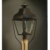 <strong>Stanfield 1 Light Chimney Curved Top Post Lantern</strong> by Northeast Lantern