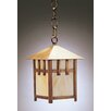 <strong>Northeast Lantern</strong> Lodge Medium Base Socket 1 Light Hanging Lantern