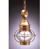 <strong>Northeast Lantern</strong> Onion 13' Medium Base Socket Caged Pendant