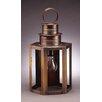 <strong>Northeast Lantern</strong> Hardwick Medium Base Socket Medium Hexagon Wall Lantern