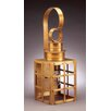<strong>Northeast Lantern</strong> Suffolk Medium Base Sockets Can Top H-Bars Wall Lantern