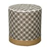 New Pacific Direct Callie Round Ottoman