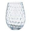 Barreveld International Glass Pocked Tall Vase
