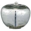 Barreveld International Glass Apple Sculpture (Set of 2)