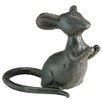 <strong>Barreveld International</strong> Iron Mouse Hands Raised Statue