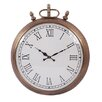 Barreveld International Fall Metal Round Dial Clock