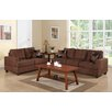 Poundex Bobkona Arcadia Sofa and Loveseat Set