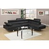 Poundex Bobkona Atlantic Sectional Sofa