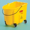 Rubbermaid Commercial Products WaveBrake Bucket with Caster Kit (Brown)