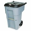 Rubbermaid Commercial Products Roll-Out Heavy-Duty Waste Square Container