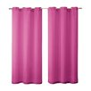 Victoria Classics Sparkle Penelope Grommet Curtain Panel