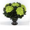 Bougainvillea Metal Trophy Small Vase with Hydrangea