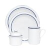 Dansk Christianshavn Blue 4 Piece Place Setting Set