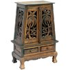 "<strong>Acacia 25"" Tropical Palm Trees Storage Cabinet</strong> by EXP"