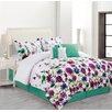 Luxury Home Bloomfield 6 Piece Comforter Set