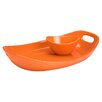 Rachael Ray Stoneware 2 Piece Chip & Dip Tray Set
