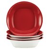 <strong>Rachael Ray</strong> Dinnerware Round and Square Soup and Pasta Bowl (Set of 4)