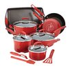 Rachael Ray Hard Enamel Nonstick 14 Piece Cookware Set
