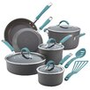 Rachael Ray Cucina Hard-Anodized Nonstick 12 Piece Cookware Set