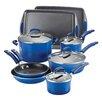Rachael Ray Porcelain II Nonstick 12 Piece Cookware Set