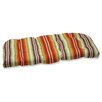 Pillow Perfect Roxen Wicker Loveseat Cushion