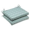 <strong>Pillow Perfect</strong> Rhodes Seat Cushion (Set of 2)