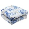 <strong>Pillow Perfect</strong> Sealife Wicker Seat Cushion (Set of 2)