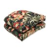 <strong>Pillow Perfect</strong> Botanical Glow Wicker Seat Cushion (Set of 2)