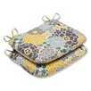 <strong>Full Bloom Seat Cushion (Set of 2)</strong> by Pillow Perfect