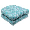 Pillow Perfect Keene Wicker Seat Cushion (Set of 2)