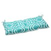 Pillow Perfect Carmody Wrought iron Loveseat Cushion
