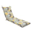 <strong>Pillow Perfect</strong> Full Bloom Chaise Lounge Cushion
