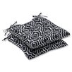 <strong>Pillow Perfect</strong> Starlet Wrought Iron Seat Cushion (Set of 2)