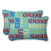 Pillow Perfect Grillin Throw Pillow (Set of 2)