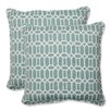 <strong>Pillow Perfect</strong> Rhodes Throw Pillow (Set of 2)