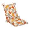 Pillow Perfect Paint Splash Chair Cushion