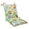 <strong>Pillow Perfect</strong> Fancy a Floral Chair Cushion