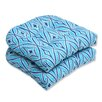 Pillow Perfect Centro Wicker Seat Cushion (Set of 2)